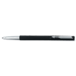 Parker Vector Standard Roller Ball Durable with Stainless Steel Nib and Trim Black Ref S0160090