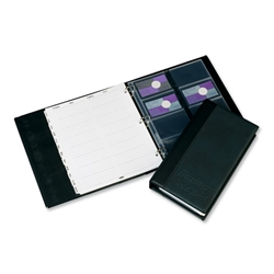 Card Holder Refill Sheets for Business Card Book [Pack 5]