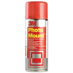 3M Photo Mount Spray Adhesive Can 400ml Ref PMOUNT