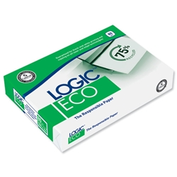 Logic Eco Paper Multipurpose 80gsm A4 White Ref BP-103883A - 5 x 500 Sheets - Item image