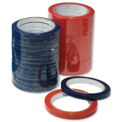 Robinson Young Vinyl Bag Sealing Tape Blue 9mmx66m Ref RY2295 - Pack 16 - Item image