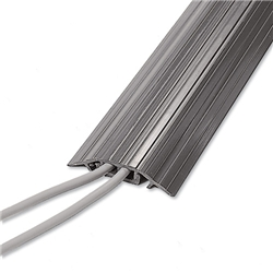 Gradus Clip-Top Cable Ducting 2-Channel 75x1500mm Grey Ref RD75 GRY - Item image