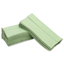 Maxima Hand Towels C-fold Single Ply 144 Sheets Green Ref VMAX5053 - Pack 20