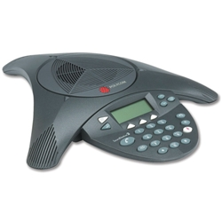 Polycom SoundStation2 Conference Phone Anti-Echo Full Duplex 8-10 Users 360 Deg Pickup Ref PB-PO2