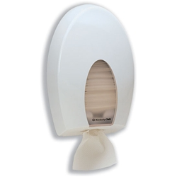 Kimberly-Clark Aqua Bulk Pack Toilet Tissue Dispenser W200xD143xH337mm White Ref 6975
