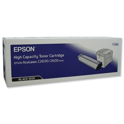 Epson S050229 Laser Toner Cartridge High Yield Page Life 5000pp Black Ref C13S050229