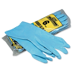 Everyday Rubber Gloves Medium Pair Ref 7060 - Pack 6