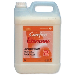 Carefree Eternum Floor Polish Low Maintenance High Gloss Step 2 5L Ref 469000