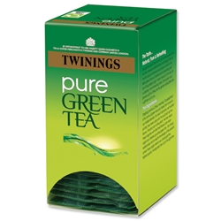 Twinings Pure Green Teabags Individually Wrapped Ref A06691 - Pack 20