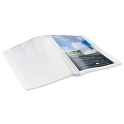 Snopake Bio Display Book Recyclable Biodegradable and 20 Pockets Clear Ref 15434 - Pack 10 - Item image