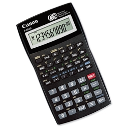 Canon F-502G Scientific Calculator Black Ref 3497B004AA - Item image