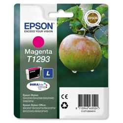 Epson T1293 Inkjet Cartridge DURABrite Apple L Capacity 7ml Magenta Ref C13T12934011