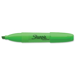 Sharpie Accent Green Jumbo Highlighter Chisel Tip Ref S0922010 - Pack 12 - Item image