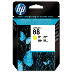 Hewlett Packard HP No. 88 Yellow Ink Cartridge 9ml Ref C9388AE