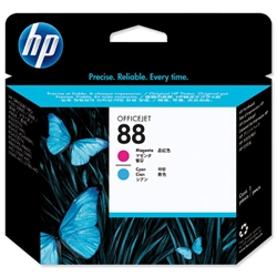 Hewlett Packard HP No 88 Cyan &amp; Magenta Printhead Ref C9382A