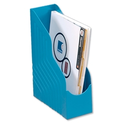 Avery Mainline Magazine Rack File Jumbo W100xD253xH323mm Blue Ref 4441BLUE - Item image