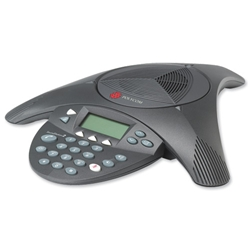 Polycom SoundStation2 EX Conference Phone 8-10 Users Expandable Ref 2200-16200-102 - Item image