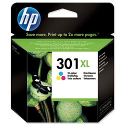 Hewlett Packard (HP) No. 301XL Inkjet Cartridge Page Life 330pp Colour Ref CH564EE #UUS
