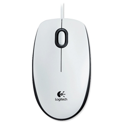 Logitech M100 Optical Mouse USB White Ref 910-001603 - Item image