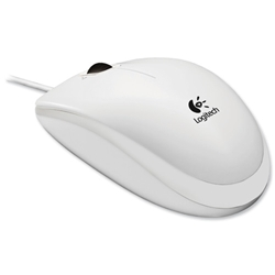 Logitech B110 Optical USB Mouse White Ref 910-001804 - Item image