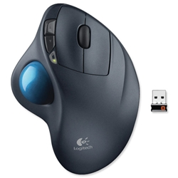Logitech M570 Wireless Trackball with USB Nano-Receiver 2.4GHz Ref 910-001882 - Item image