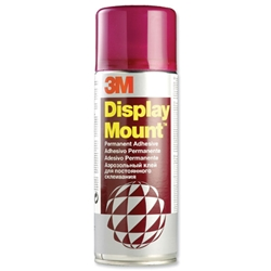 3M Display Mount Adhesive Spray Can 400ml Ref DMOUNT