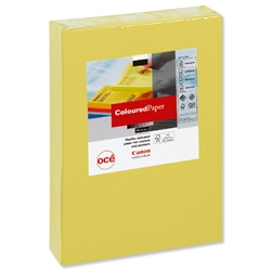 Canon Coloured Paper Multifunctional Ream-Wrapped 80gsm A4 Bright Yellow Ref 97002007 [500 Sheets]