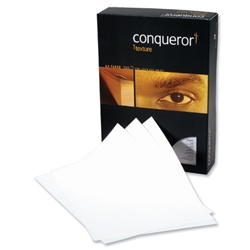Conqueror Prestige A4 Vellum 100gsm Laid Finish Paper Ref 88535 - 500 Sheets