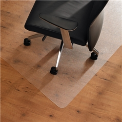 Chair Mat Rectangular for Carpet Protection 1200x1500mm Clear