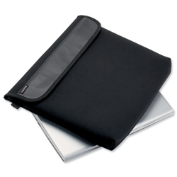 Lightpak Laptop Cover Neoprene Padded Capacity 13.5in Black Ref 46006