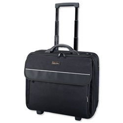 Lightpak Treviso 17in Laptop Trolley Overnight Black Ref 92702