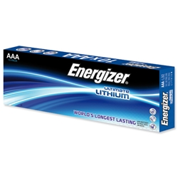Energizer Ultimate AAA Lithium Battery LR03 1.5V Ref 634353 - Pack 10