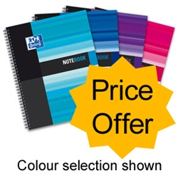 Oxford Office Wirebound Notebook Polypropylene A5+ Ref 100104248 - Price Offer - Item image