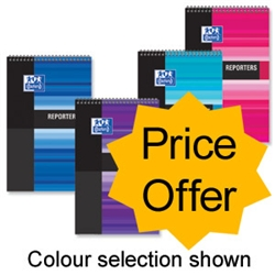 Oxford Office Reporters Notebook Polypropylene 125x200mm Ref 100080457 - Price Offer - Item image