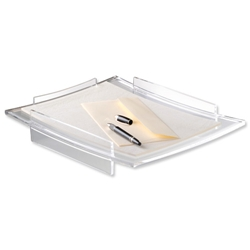 CEP AcryLight Letter Tray Clear W336xD275xH60mm Ref 400 - Item image