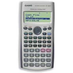 Casio FC-100V Financial Calculator Ref FC100V