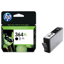 Hewlett Packard HP No. 364XL Inkjet Cartridge Page Life 550pp Black Ref CN684EE #ABB