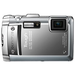 Olympus TG-810 Digital Camera LCD 3.0in 5x Optical Zoom 14MP Silver Ref TG810 - Item image