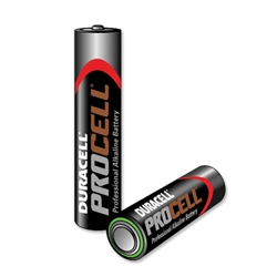 Duracell Procell Battery Alkaline 1.5V AAA Ref MN2400 - Pack 10
