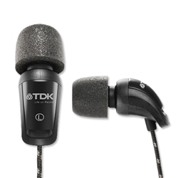 TDK EB900 In-Ear Foam Headphones Ref EB900 - Item image