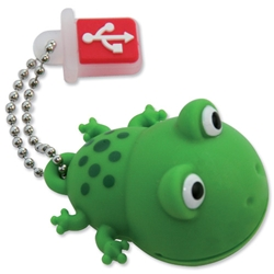 TDK Flash Drive USB 2.0 with Soft Silicon Rubber Housing 4GB Froggy Ref t78640