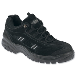 Sterling Apache Trainers Steel-toe Scuff Trim Shock-absorbant Chemical-resist Size 8 Black Ref AP302SM8