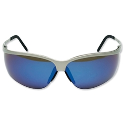 3M Metaliks Sport Glasses Blue Mirror Lens AS Ref 71461-00003M