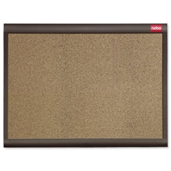 Quartet Personal Designer Noticeboard Cork with Plastic Frame W600xH450mm Ref QBDC6045