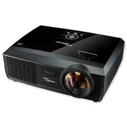 Optoma Projector XGA Short Throw Lens 3000 ANSI Lumens 3000-1 Contrast Ratio 2.9kg Ref ST30
