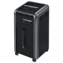Fellowes 225i Shared Workspace 5.8mm Strip Cut Shredder DIN2 Ref 4623101
