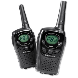 Midland G6 XT Two Way Radio Rechargeable Range 12km Ref G6XT - Pack 2 - Item image