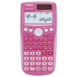 Casio FX-85GT Scientific Calculator Pink Ref FX85GT - Item image
