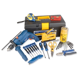 Draper Maintenance Tool Kit Complete With 500W Hammer Drill Ref 02573