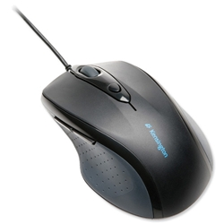 Kensington Pro-Fit Full Size Ergonomic Optical PS2 Mouse with USB Adaptor Ref K72369EU - Item image